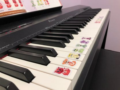 Piano stickers for kids