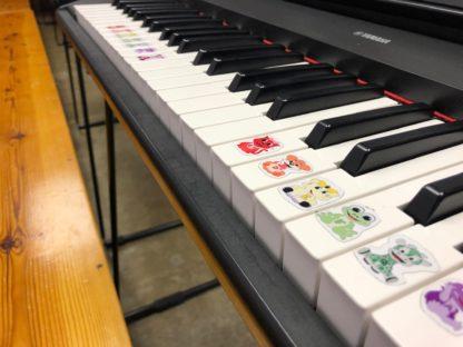 piano stickers for children