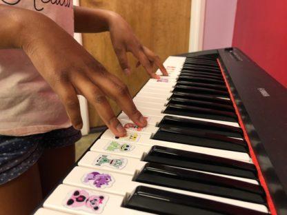 Note-Friend piano stickers
